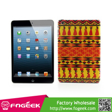 Slim Hard Case Indian Style Tribal Pattern Durable Plastic Cover for iPad Mini