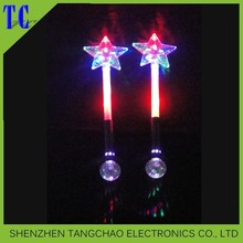 Hot sale christmas gift decorations 2015 glowing led light stick