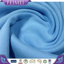 Rayon Spandex Plain Dyed Fabric Viscose Solid Knitted Fabric