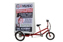Outdoor LED Advertising Bike for sale