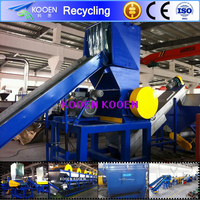 Industrial dirty plastic recycling machine of best quality