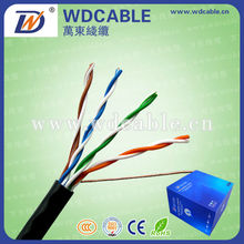 Sell to all over the world high quality cat5e/cat6 network cable passed fluke test