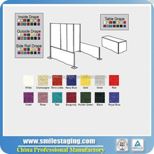 exhibition booth size trade show graphics and build cheap price for wedding and events