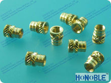 M3,M4 brass inserts for plastics
