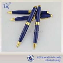 Delicate Metal Sapphire Color Pen for Businessman