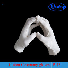 cotton parade gloves marching band waiter officer