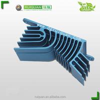 Professional Customized 6063 Extruded Alloy Aluminium Heatsink For Power Amplifier