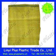 china cheap pp leno mesh bag for packing fruit and vegetable 50kg 100kg