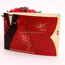Popular sale Original And Elegant Wedding Invitation Greeting Card