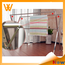 House Expandable Standing Stainless Steel, Clothes Hanger Stand Portable Clothes Dryer