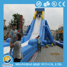 cute floating inflatable water slide for kids and adults