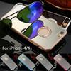 Mirror Diamond Case For iPhone 4, Bling Diamond Crystal Mirror Phone Case Back Cover For iPhone 4s
