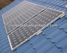 2015 Hot Sale Plug And Play 3000W Power Solar Panel System With Built-in Inverter