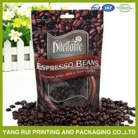 Custom Logo OEM drawstring Burlap Coffee Bag for gift mobile bean sales promotion packing