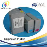 350ML HP80 compatible Pigment ink cartridge for HP Desigjet 1000 1050 1055 C4846A C4847A C4848A C4871A