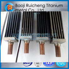 Best-selling Manufacture Professional Titanium Anode group for Sodium Hypochlorite Generator long service life