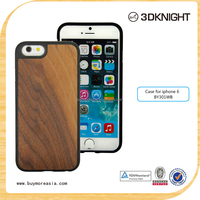 2015 Real Wood TPU case for iPhone 6/6s/6 Plus Newest Ultra Slim Phone Cover for iPhone 6