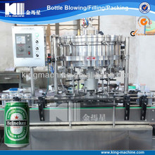 Automatic Beer Can Filling Canning Line / Machine