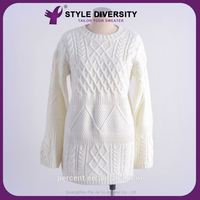Hot 2015 Good Quality Modern Loose Dress Mohair Sweater Knitting