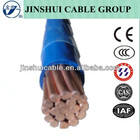 venda quente ul padrão de cobre isolado pvc do fio de nylon da bainha thhn wire