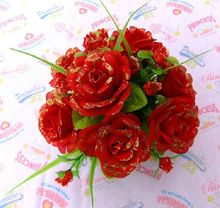 Decorative Rose Artificial Flowers For Wedding