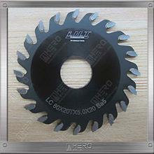 V cut saw blade 63*1.0* 20*12T conbination tooth