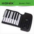 Teclado enrollable y flexible, sintetizador | piano enrrollable