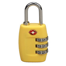 TSA335 Resettable 3 Digit Combination Padlock free shipping Suitcase Travel Lock TSA locks Luggage Padlock