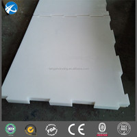 UHMWPE / HDPE plastic skate board for ice rink and ice hockey rink