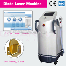 Top laser diode laser 808nm for hair removal skin rejunvenation with semiconductor cooling handpiece