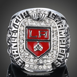 NHL 2012 LA Los Angeles Kings Stanley Cup design your own Championship Sports Hockey Rings For Men B048