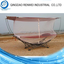 Steel Folding Hammock Stand with Mosquito Netting/Outdoor Hammock Stand