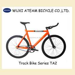 Ateam 2015 New Style TA2 Orange UD Carbon Fork Track Bike