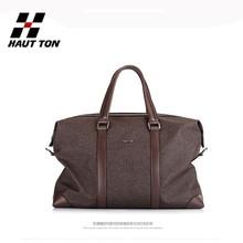 DB232 men's laptop messenger leather travel tote bag