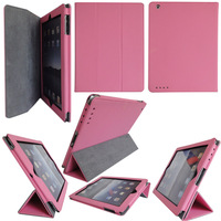 New Designs Ultra Thin Popular Flip Tablet Shockproof Case For iPad 2