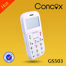 CONCOX FM radio phone for elderly people GS503