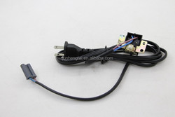 with switch black tv power supply cable wire