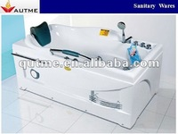 Double Bathtub Twin Whirlpool Massage Bathtub for Lovers Couples
