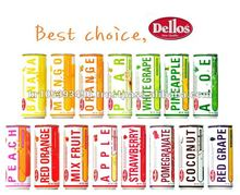 """Dellos"" Brand Fruit Juice Drink 240ml"