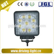 15w 18w 24w 27w automotive led work light 12v ip67 led spot headlight 4wd