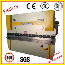 cnc hydraulic steel bending machine 4mm sheet press brake with low price NC metal plate bender