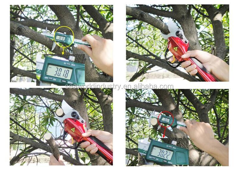 Outil de jardin lectrique ciseaux pour couper branche d - Cisaille electrique pour jardin ...