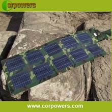 EU standard folding laptop solar panel for 12V device