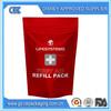 stand up resealable medicine bag/ldpe medical zip lock bag/food zipper bag