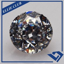faceted magic specially round cut good quality fashion cut cz stone