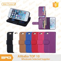 HOT!!!!!Multi-function cover for Iphone 5 Wallet Case!