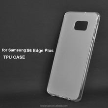 New matte sides and glossy edge tpu case for Samsung Galaxy S6 Edge Plus