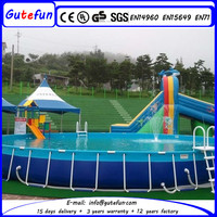 customer made affordable price polyester fiberglass swimming pool for amusement park