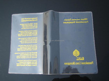 Various design PVC book cover with nice design,hot selling