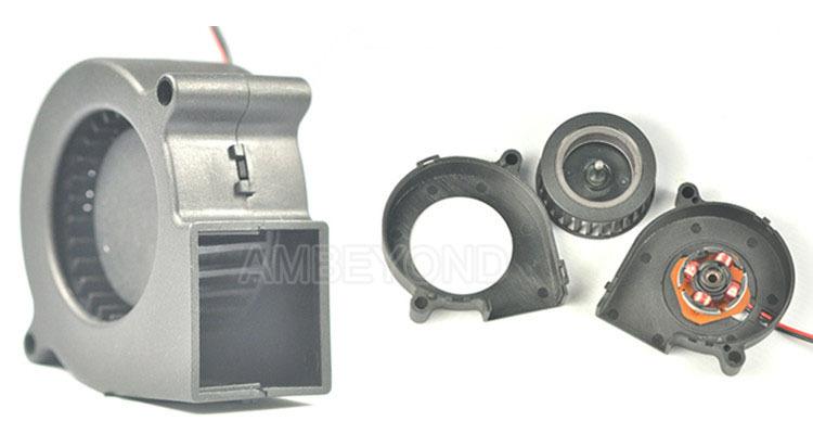 Inline Fan Structure : Dc small blower fan for steam humidifier quot inline
